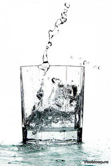 Простая вода может заменить таблетки для похудения